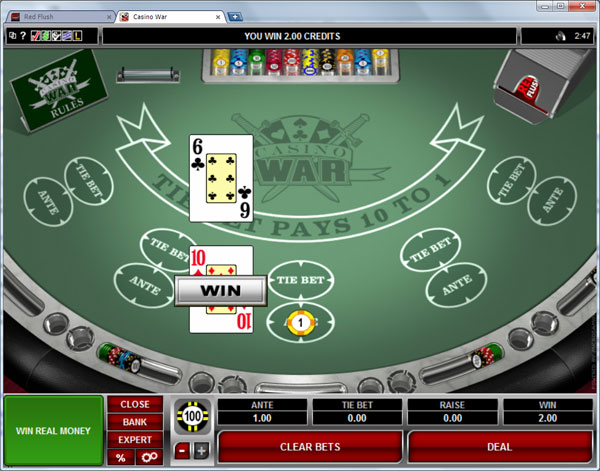 Casino War Game Online Rules Tips And Casinos