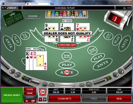 free casino games poker