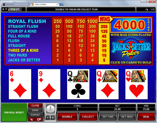 casino video poker online